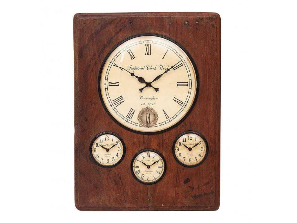 Часы Secret De Maison «Quarta» (FS-1437) (Antique Brown)