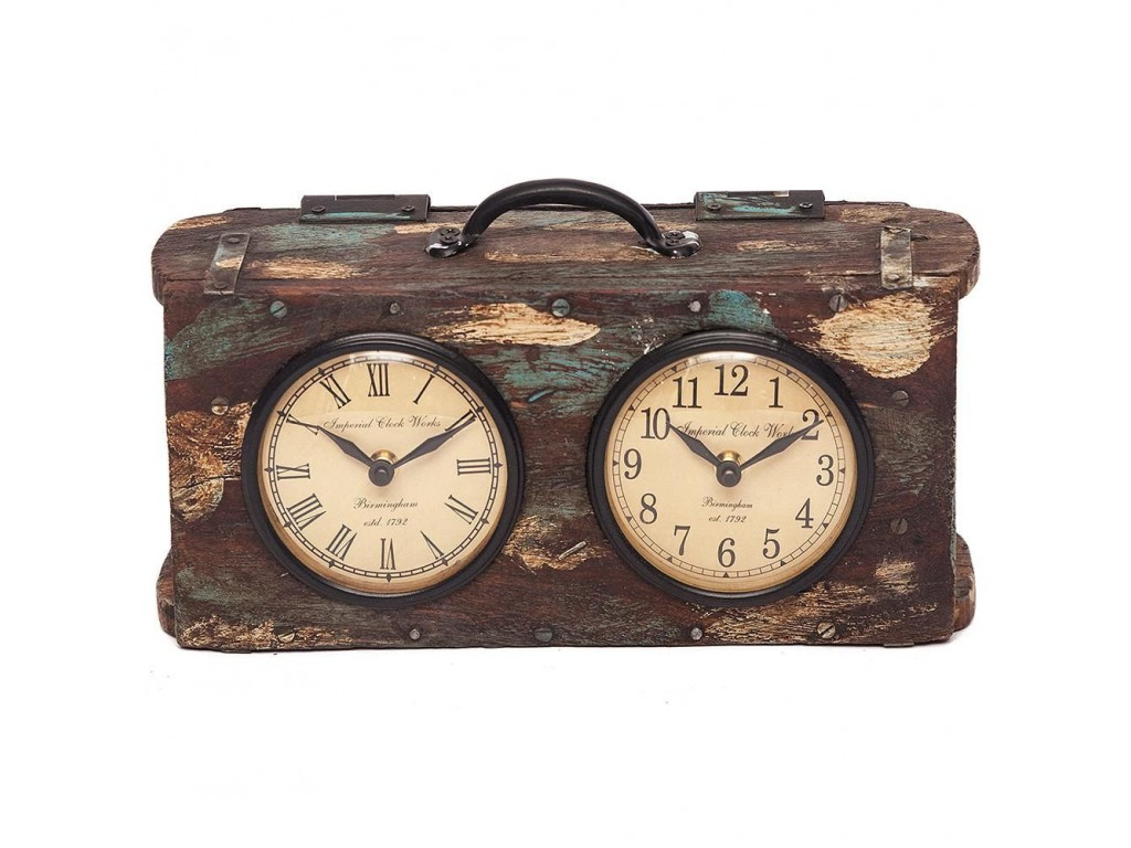 Часы Secret De Maison «Bi-clock» (FS-1512) (Antique Brown)