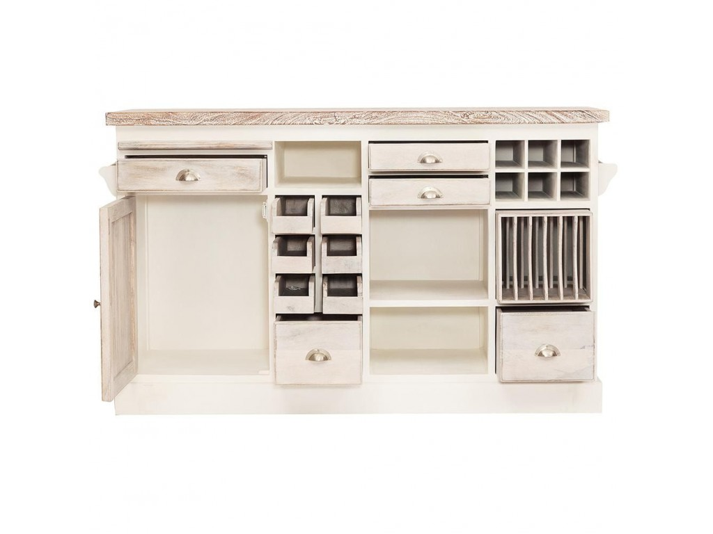 Кухонный остров Secret De Maison «Riviera» (mod. 2248A) (Antique White)